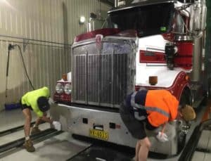 Hand Truck Wash - The Wash Inn - Another Clean Truck