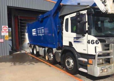 Truck Wash Garbage Truck