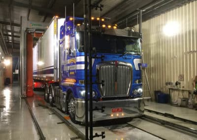 Automated Truck Wash - The Wash Inn - Another Clean Truck 4
