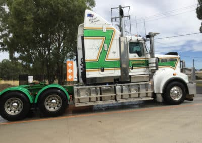 Another perfectly washed truck - Thurgoona Truck Wash NSW 2