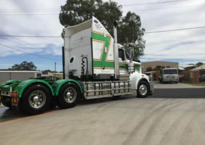 Another perfectly washed truck - Thurgoona Truck Wash NSW