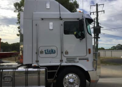 Another perfectly washed truck - Truck Wash Thurgoona NSW 8