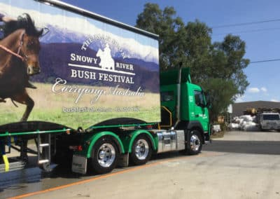 Another perfectly washed truck - Truck Wash Thurgoona NSW 3