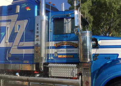 Another perfectly washed truck - Truck Wash Thurgoona NSW