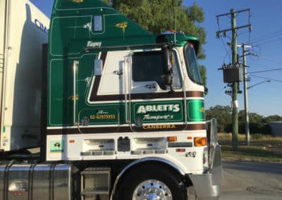 Another perfectly washed truck - Truck Wash Albury NSW 10