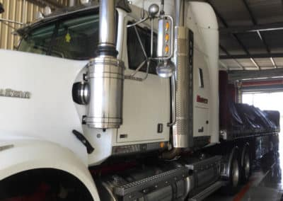 Another perfectly washed truck - Truck Wash Albury NSW 4
