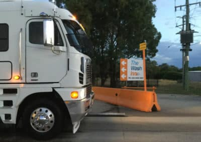 Another perfectly washed truck - Truck Wash Albury NSW 2