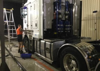 Another perfectly washed truck - Truck Wash Albury NSW 1