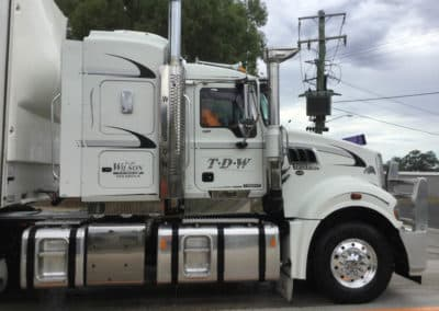 Another perfectly washed truck - Albury Truck Wash NSW 9