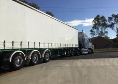 Another perfectly washed truck - Albury Truck Wash NSW 5