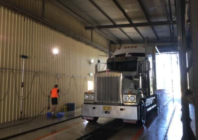 Another perfectly washed truck - Albury Truck Wash NSW 4