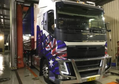 Another perfectly washed truck - Albury Truck Wash NSW 2