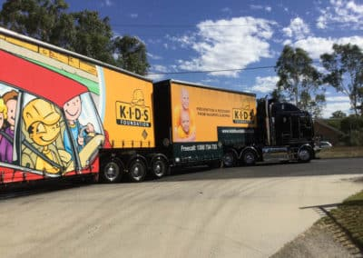 Another perfectly washed truck - Albury Truck Wash NSW
