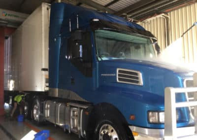 Another perfectly washed truck - Lavington Truck Wash NSW 10