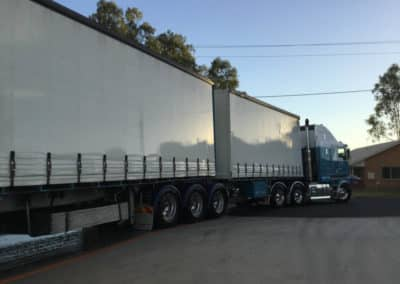 Another perfectly washed truck - Lavington Truck Wash NSW 9