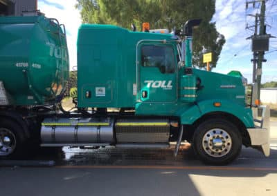 Another perfectly washed truck - Lavington Truck Wash NSW 6