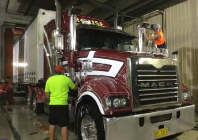 Another perfectly washed truck - Lavington Truck Wash NSW 3