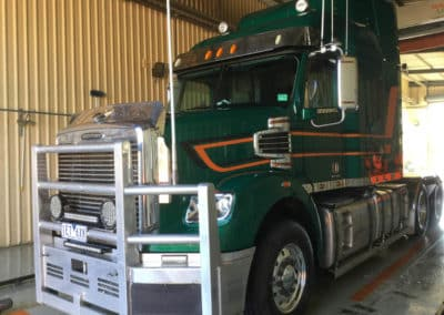Another perfectly washed truck - Lavington Truck Wash NSW