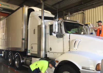 Another perfectly washed truck - Truck Wash Lavington NSW 9