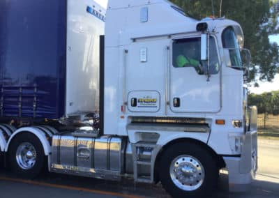 Another perfectly washed truck - Truck Wash Lavington NSW 8