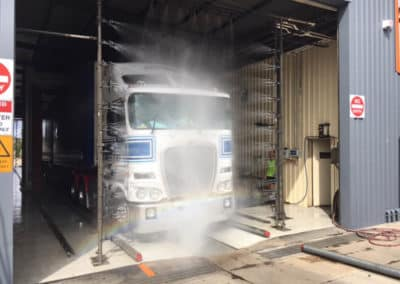 Another perfectly washed truck - Truck Wash Lavington NSW 4